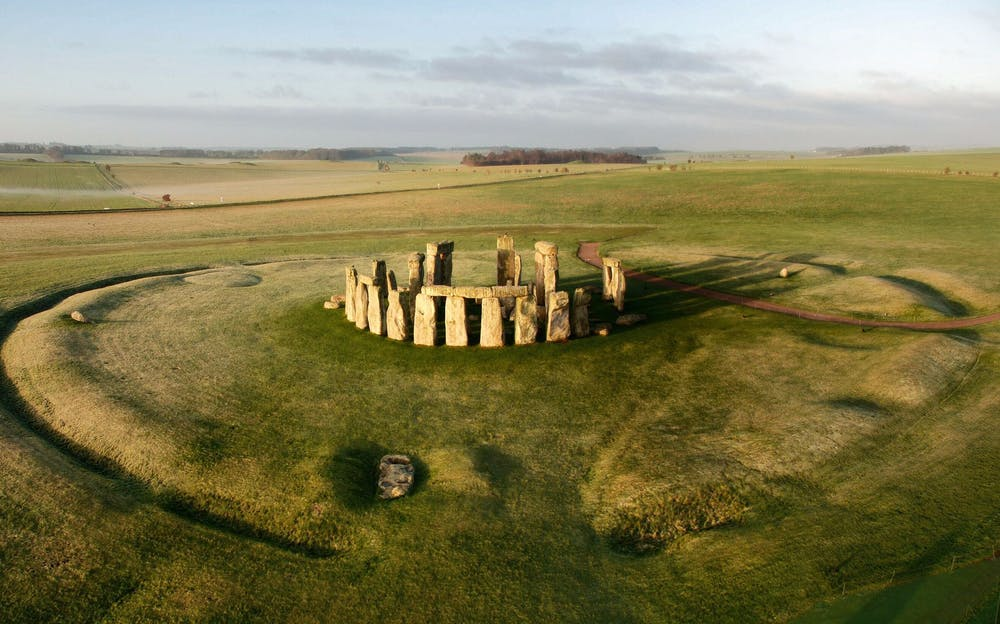 Stonehenge Tickets - An aerial view of Stonehenge