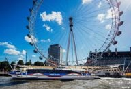 Thames Clipper and Emirates Cable Car