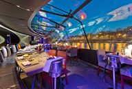 Bateaux Parisiens: Late Evening Seine Dinner Cruise