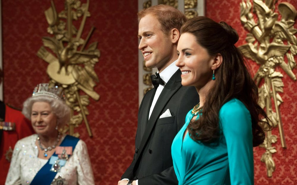 London Eye Combo Tickets - Wax figures of the Royal Family at Madame Tussauds
