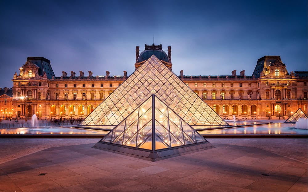 The Paris Pass - Outside the Louvre Museum
