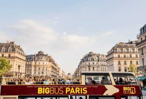 Paris: Hop-On Hop-Off Classic Ticket