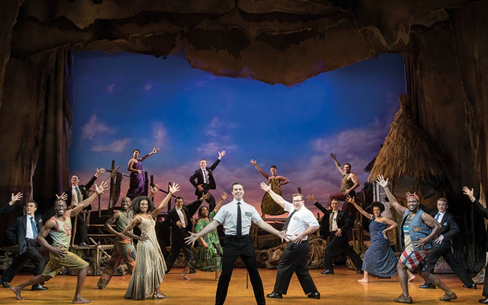 The Book of Mormon London - Spectacular dances and hilarious songs.