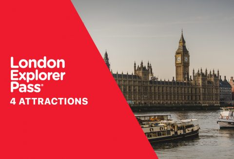 4 Attraction London Explorer Pass