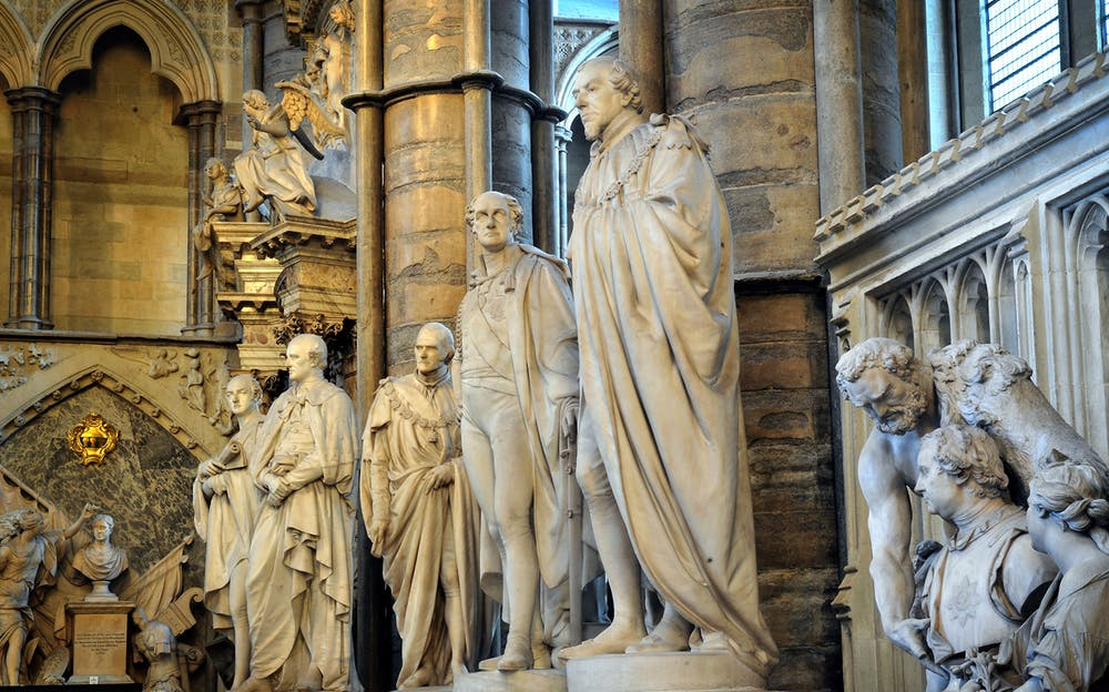 Westminster Abbey Tickets - Statues inside Westminster Abbey