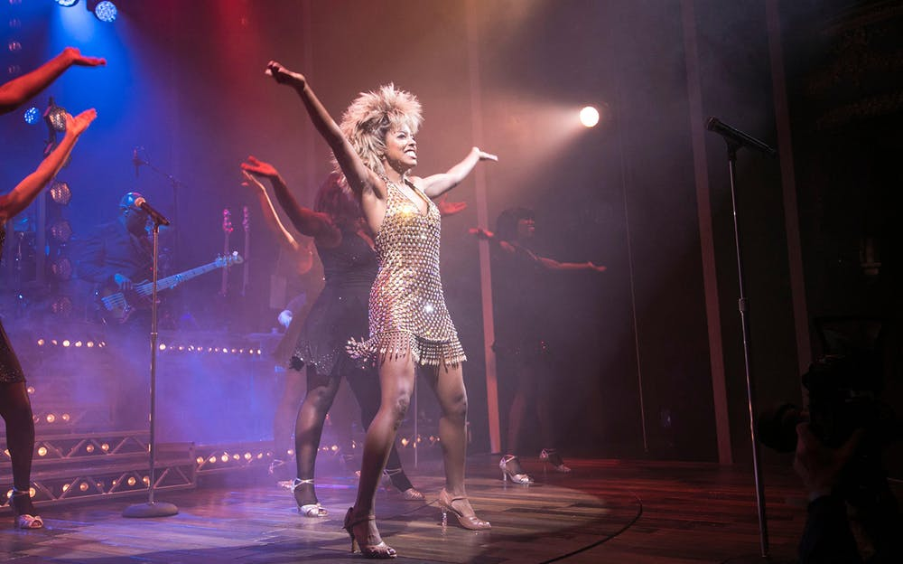 The Tina Turner Musical - The cast of TINA: The Tina Turner Musical live on stage