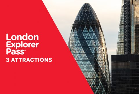 3 Attraction London Explorer Pass