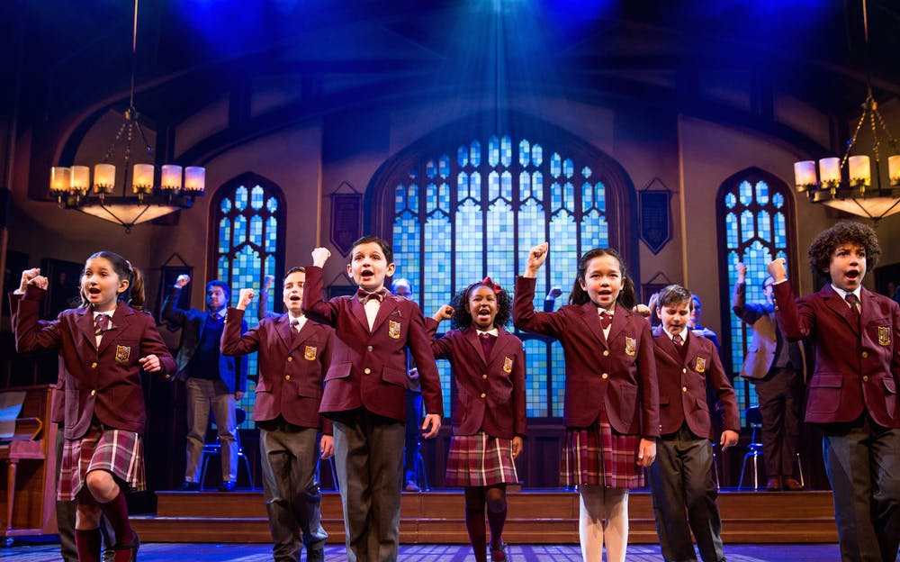 School of Rock: The Musical - The students of Horace Green prep school on stage
