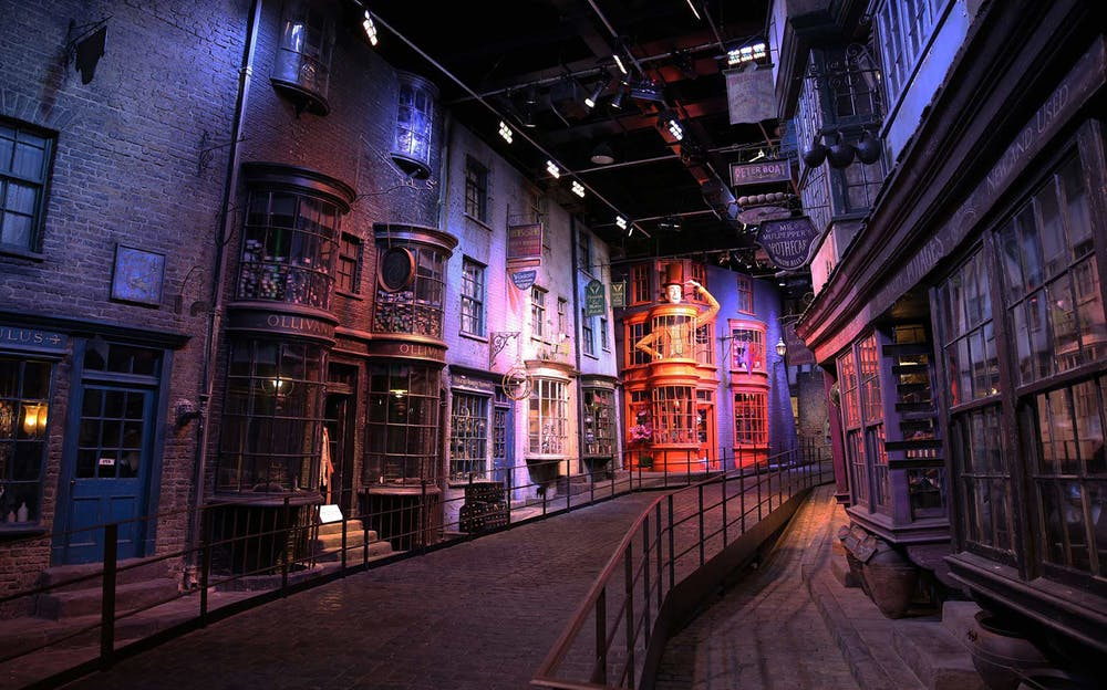 Warner Bros Studio Tour - Take a walk along Diagon Alley