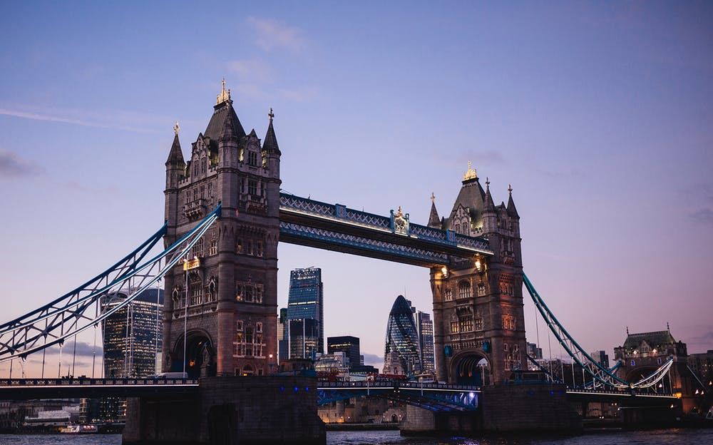 London Explorer Pass 3 Attractions - A view of Tower Bridge in the evening