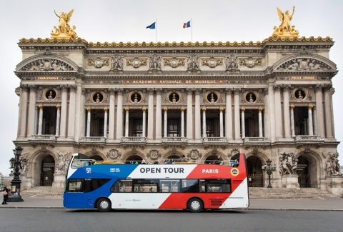 Hop-On Hop-Off – 1 Day, 2 Day, 3 Day Paris Sightseeing Tour