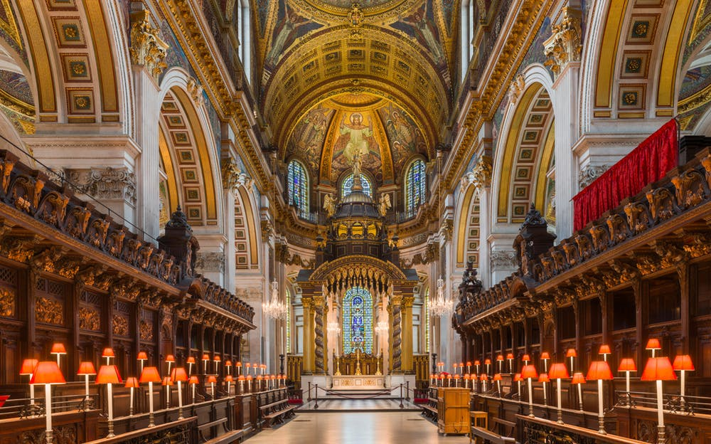 Tower of London and St Paul's Cathedral Tickets - Inside St Paul's Cathedral