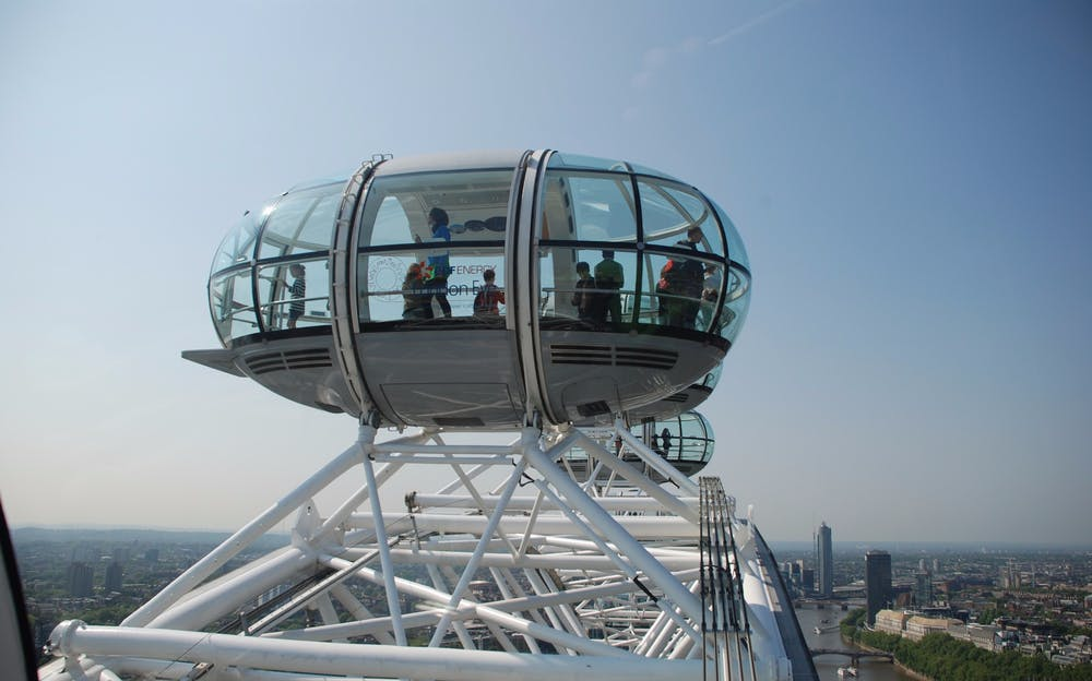 London Eye and Tower of London Tickets - A view from the top of the London Eye