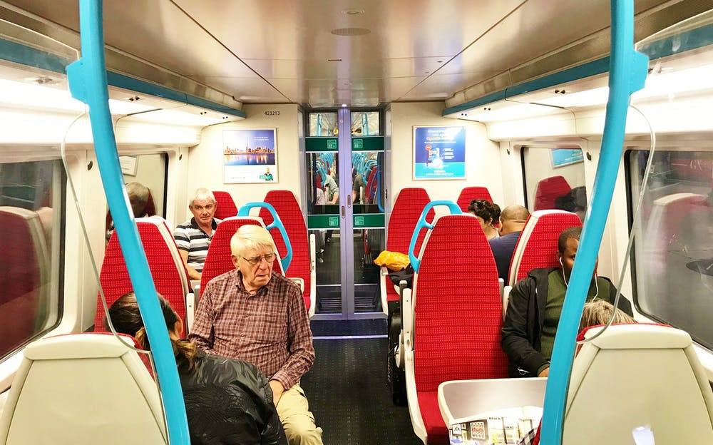 Gatwick Express Tickets - Aboard the Gatwick Express