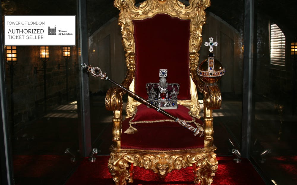 Tower of London Tickets - Jewels and Regalia inside the Tower