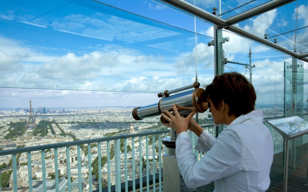 Montparnasse Tower - Excellent views from the observation deck of Montparnasse Tower