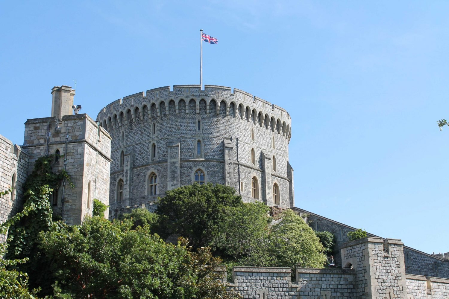 Windsor Castle Tickets - An exterior view of Windsor Castle