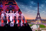 Eiffel Tower by Night, La Marina Dinner Cruise and Moulin Rouge Show