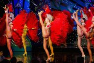 Paris by Night: Moulin Rouge Show & Paris City Tour with Transportation