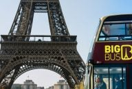 Big Bus Tour Paris: Hop-On Hop-Off Deluxe Ticket