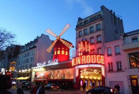 Moulin Rouge With Dinner & Paris City Tour