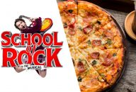 School of Rock and Dinner at Fire & Stone – Covent Garden
