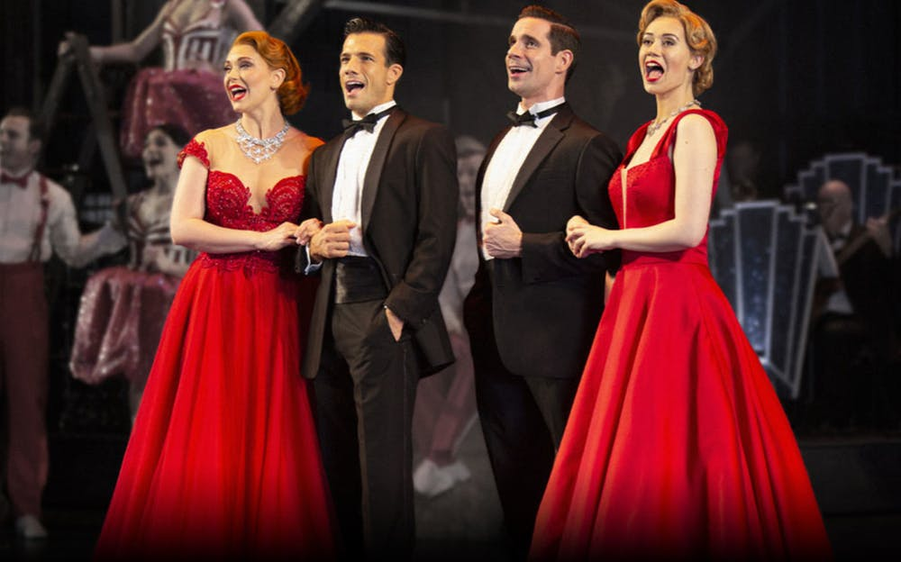 White Christmas musical - Classic songs live on stage