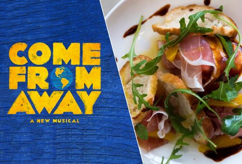 Come From Away and Dinner at Jamie's Italian – Covent Garden