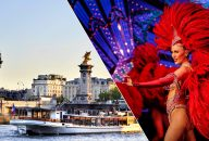Moulin Rouge Show with Champagne and Seine River Cruise with Transportation