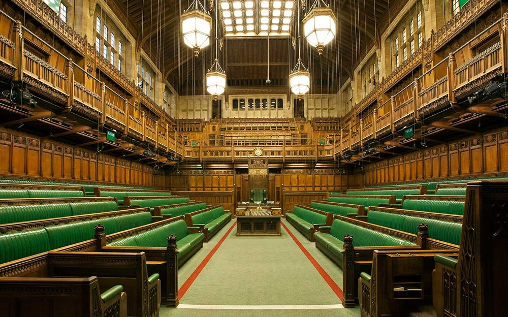 Westminster Abbey tour - The House of Commons