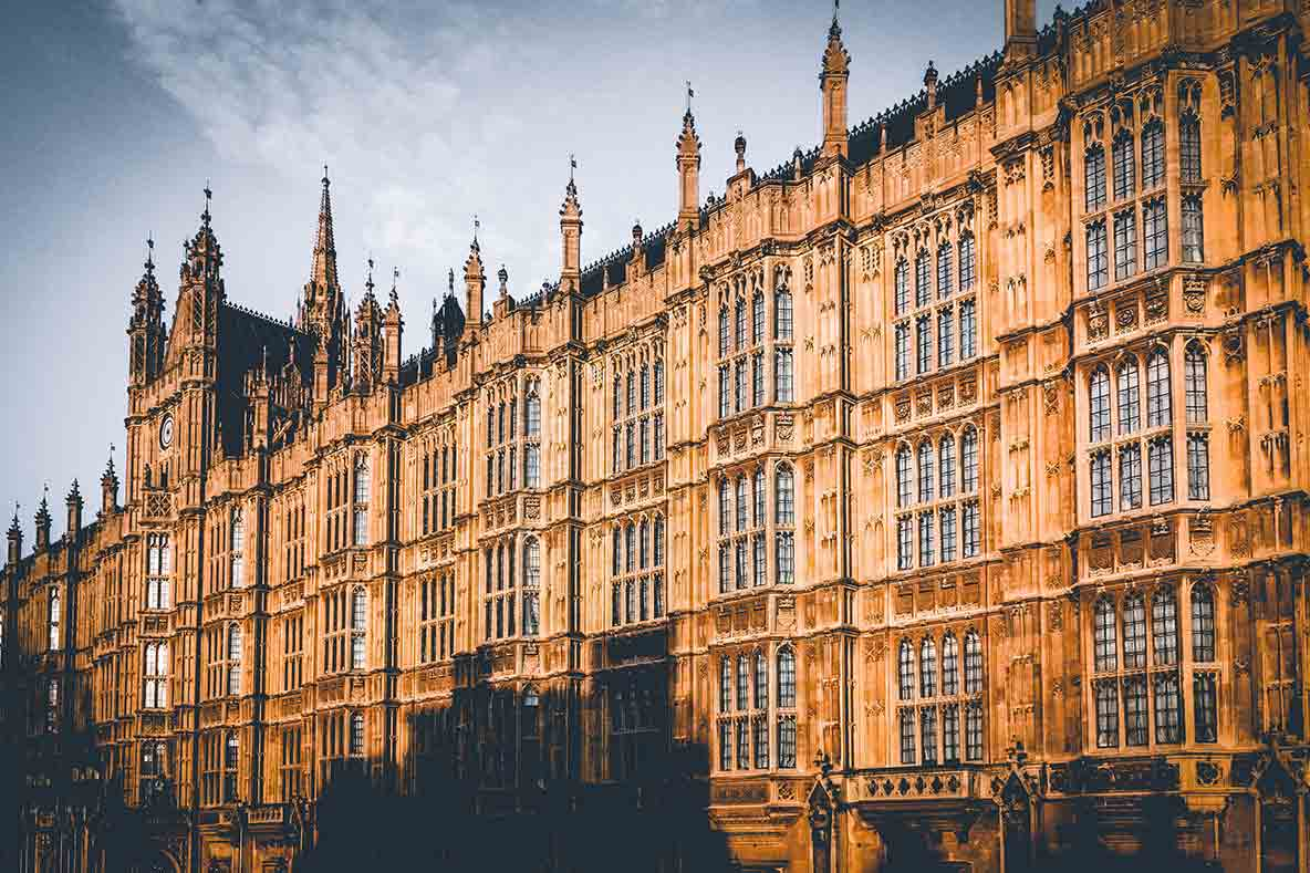 Houses of Parliament tour - The exterior