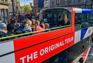 The Original London Sightseeing Tour with Kensington Palace, River Cruise and London Walking Tour