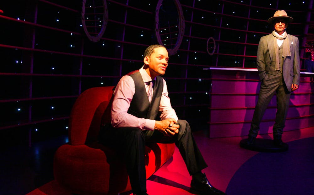 Merlin Magical London Pass - A wax figure of Will Smith at Madame Tussauds