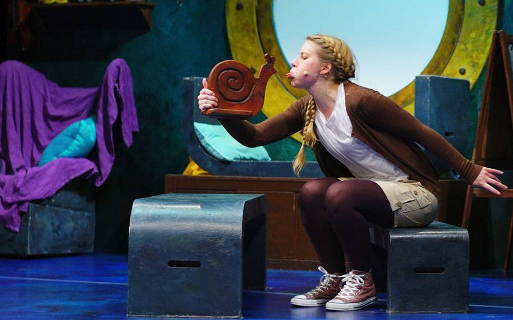 The Snail and the Whale theatre production