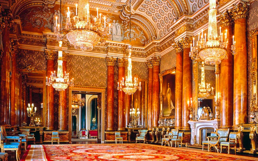 Buckingham Palace admission - Inside Buckingham Palace