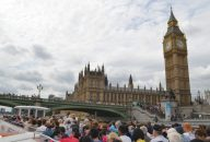 Single Tickets between Westminster/London Eye & Tower