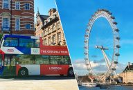 The Original Tour London 24Hr Pass + London Eye Tickets