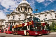 Big Bus London: 1/2/3 Day Hop-On-Hop-Off Sightseeing Bus + Cruise & Walking Tour