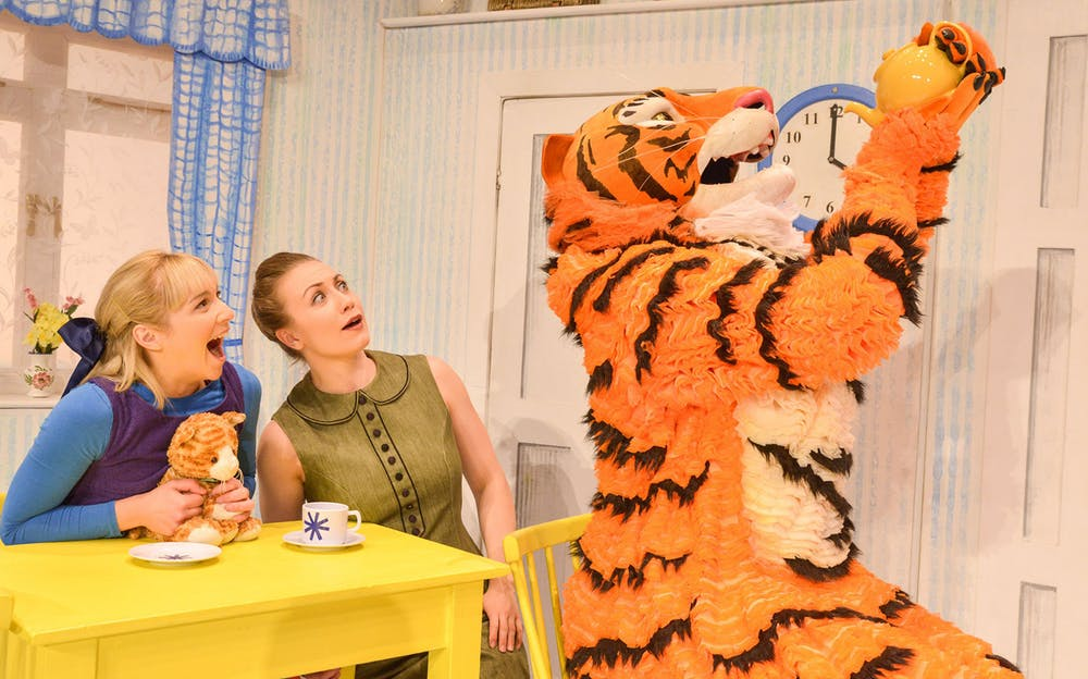 The Tiger Who Came to Tea theatre - The tiger comes to tea!