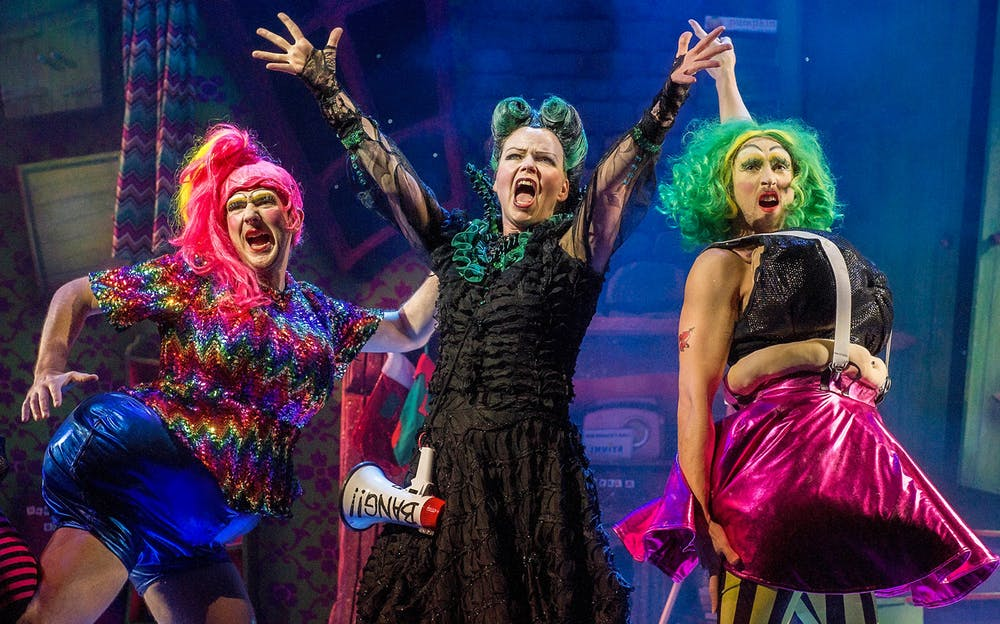 Cinderella Tickets - The wicked stepmother and the ugly sisters