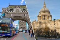 Golden Tours: 24Hrs London Hop On Hop Off & St Paul's Cathedral Tickets