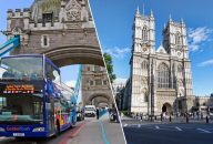 Golden Tours: 24Hrs London Hop On Hop Off & Westminster Abbey Tickets