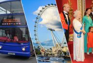 Golden Tours: 24Hrs London Hop On Hop Off + Coca-Cola London Eye & Madame Tussauds Tickets