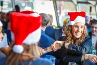 Christmas Lunch Party on Thames River Cruise